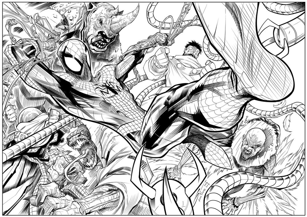 Spiderman Foes by Inhuman00