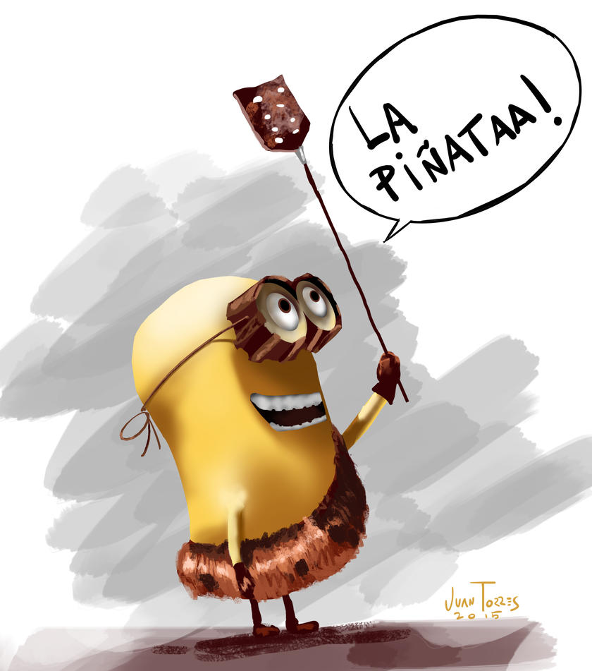 Minion Pinata by Inhuman00