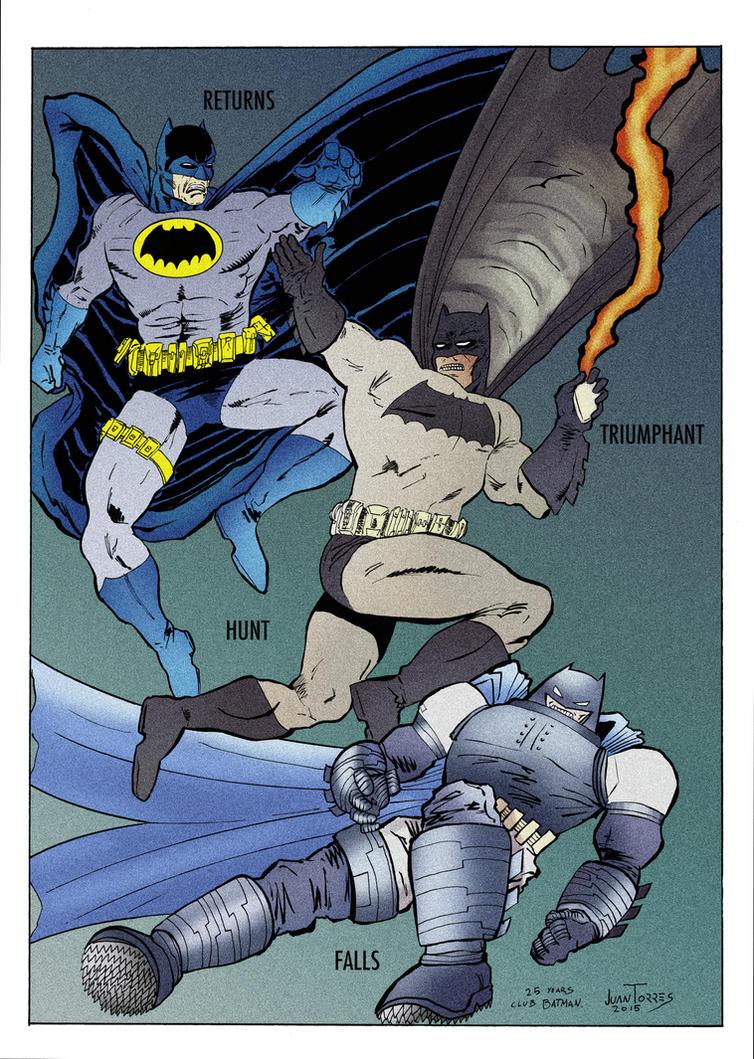 The Dark Knight Returns Saga. by Inhuman00