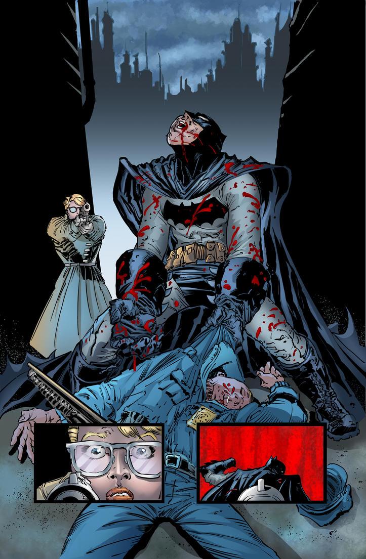 Dark Knight III The Master Race by Inhuman00
