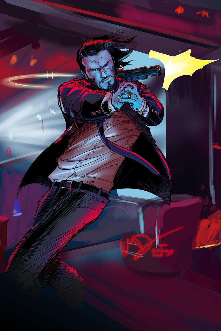 John Wick by Inhuman00