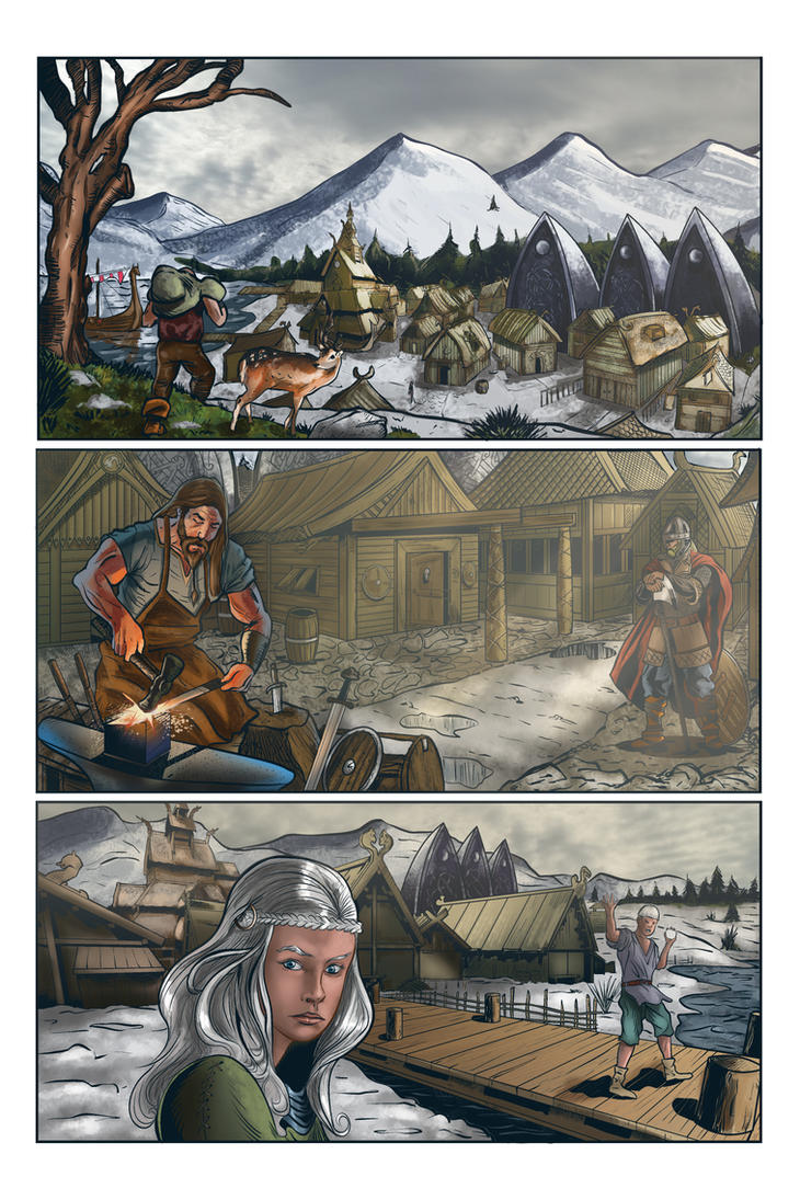 Rosewind 2 page 1 by Inhuman00