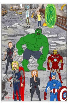 Rick and Morty Avengers