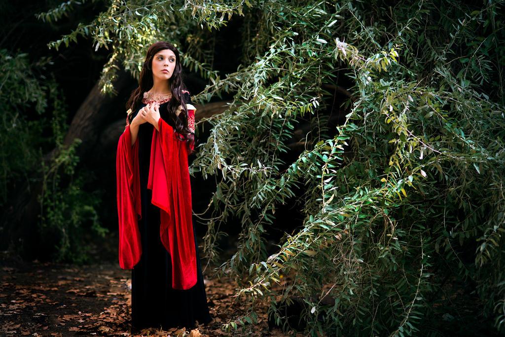 Elf in the wood by LucreciaBorja