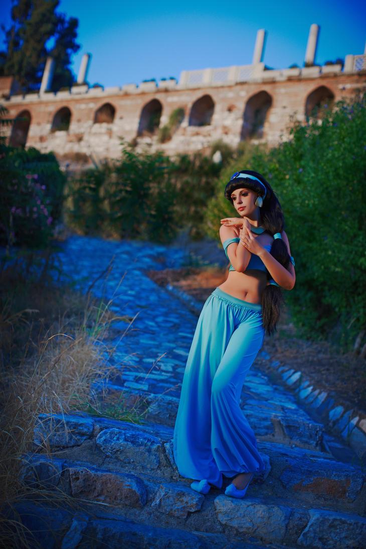 Dancing near the castle by LucreciaBorja