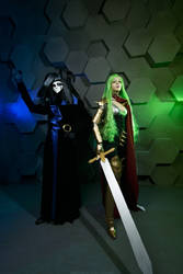 Lady Jaguara and Lord Darcia III by LucreciaBorja