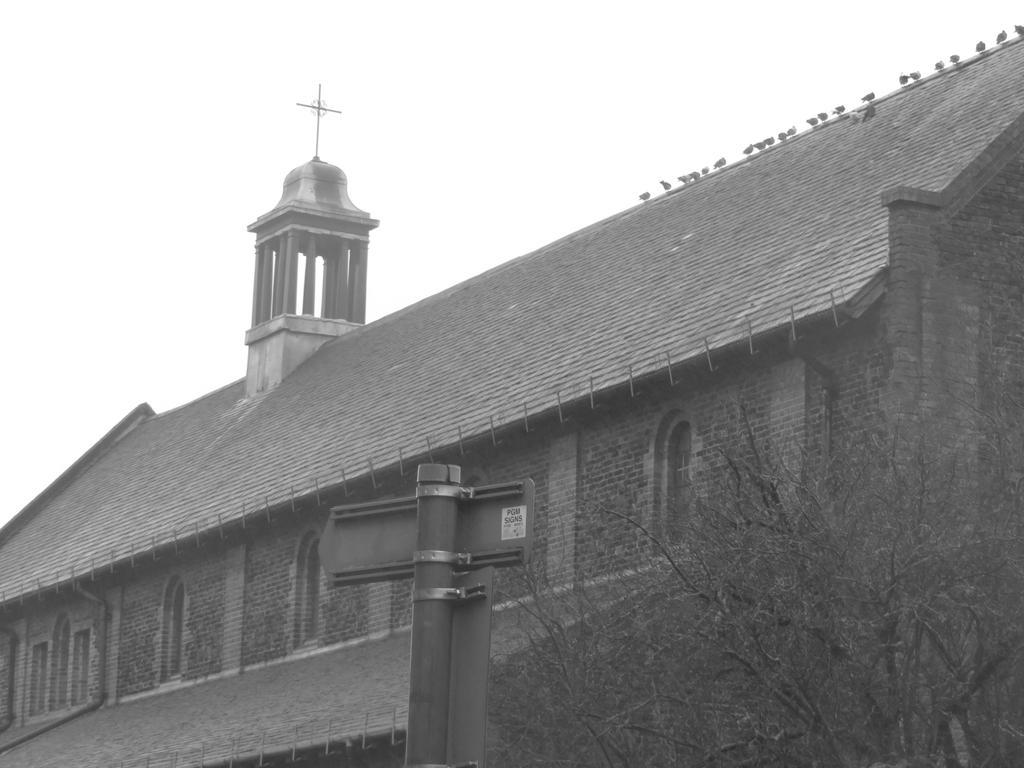 church raining day by james3