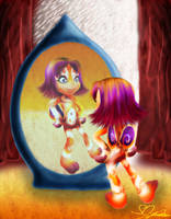 Tily in the mirror by Simina-Cindy