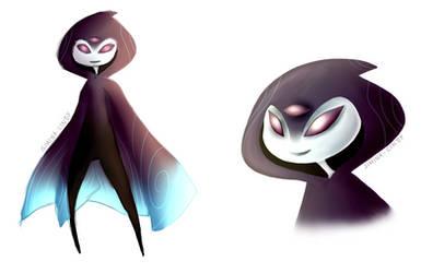 Original Concept Art: Dija Alien Species by Simina-Cindy