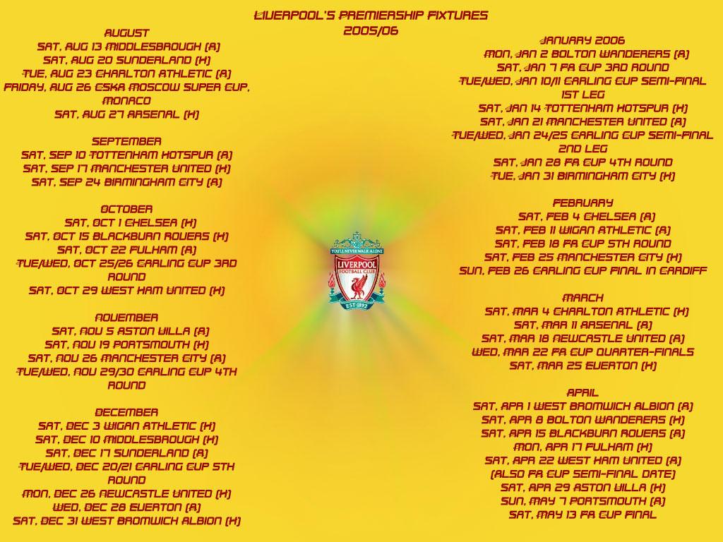 liverpool fixtures - photo #46