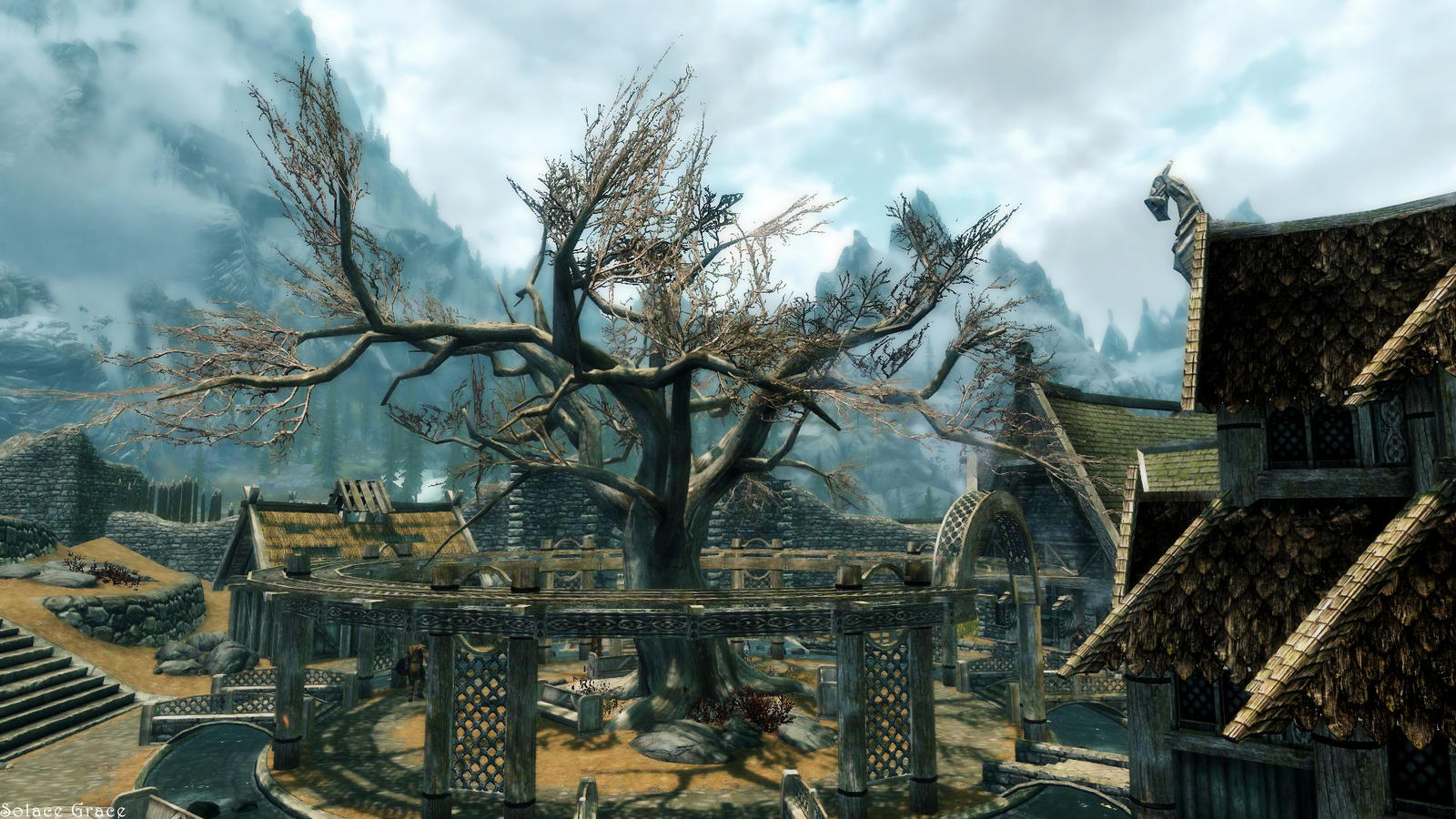 The Slumbering Tree At Whiterun By Solace Grace On DeviantArt
