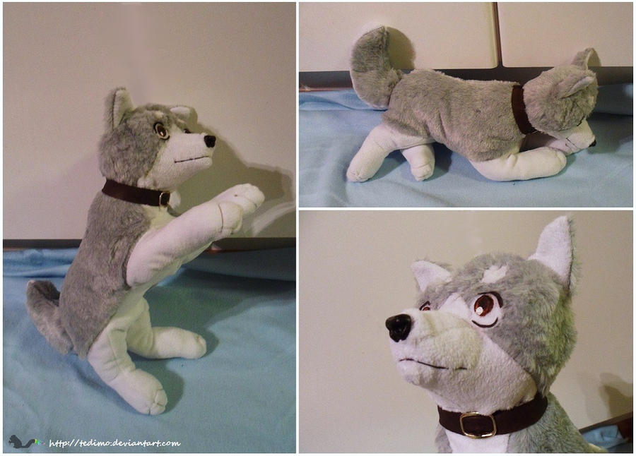 Gin plush by Tedimo