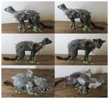 The Last Guardian Trico (custom art doll) by Tedimo