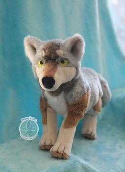 Wolf Plush Pattern
