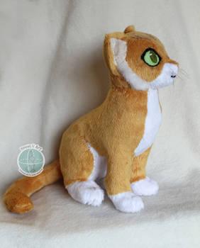 Sitting Cat Plush Pattern