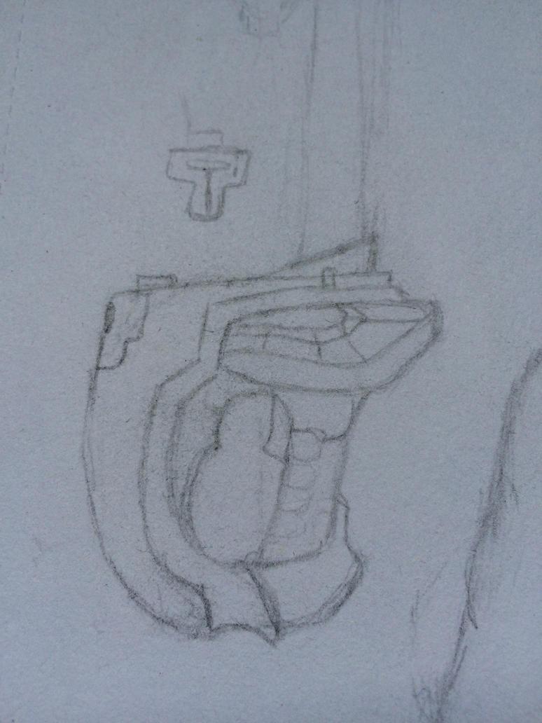 Rinas gun by SoularWolf4