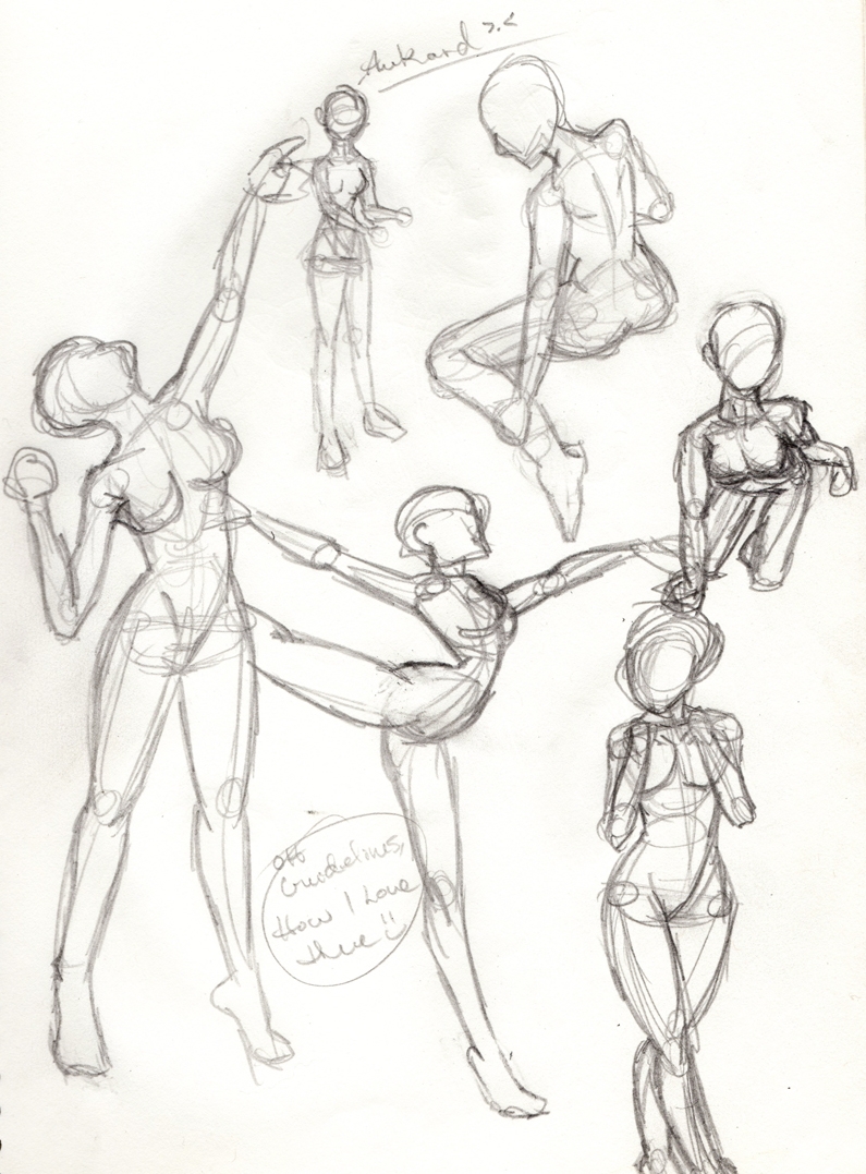 This is a picture of Massif Women Anatomy Drawing
