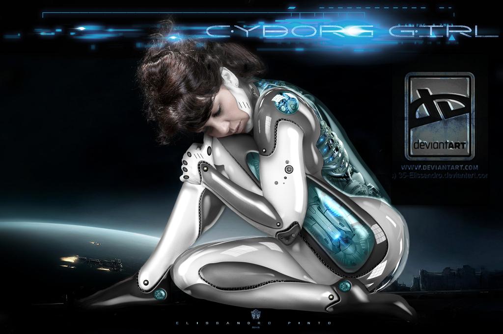 Cyborg Girl by 35-Elissandro