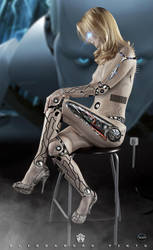 Cyborg-Girl- Sci-fi-SD. V1 by 35-Elissandro