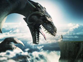 #Photoshop)|# Lady Dragon|Manipulation| by 35-Elissandro