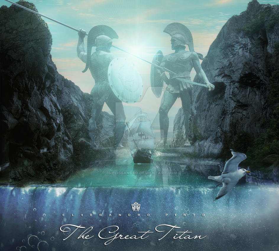 The Great Titan_ wallpaper- by 35-Elissandro