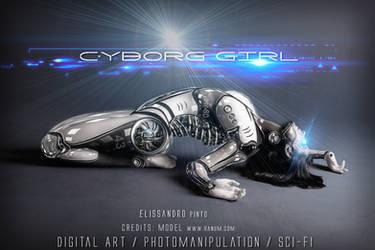 Cyborg Girl  43 by 35-Elissandro