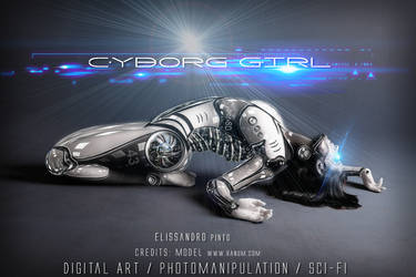 Cyborg Girl  43 by 35-Elissandro