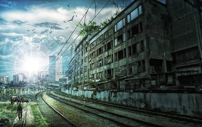 Cidade Apocaliptica by 35-Elissandro