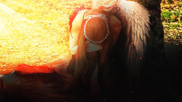 Angel of broken wing