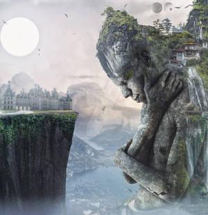 Surreal-Fantasy-Stone Effect