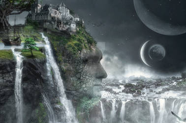 Photoshop  Rock Effect by 35-Elissandro