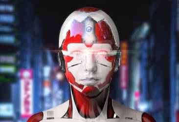 CYBORG Photo Effect -Sci-Fi-ARCHIVE by 35-Elissandro