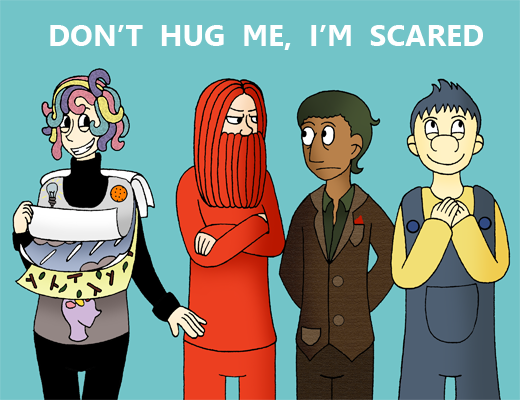 im not scared character map The characters of the series don't hug me i'm scared wiki is a fandom tv community content is available under cc-by-sa.