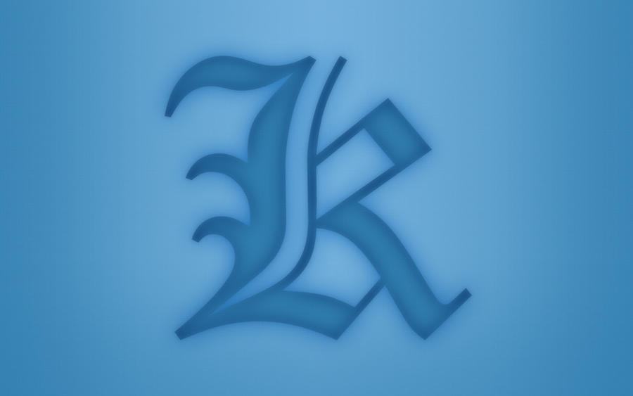 I Love K Letter Wallpaper: K Wallpaper By Devlindd On DeviantArt