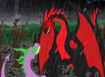 Spike vs Black Dragon