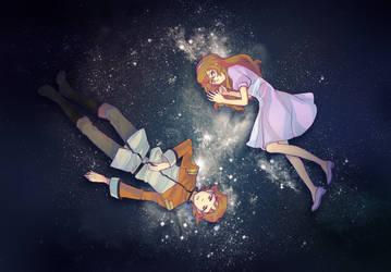 Voltron- Katie's starry sky by rainbox17