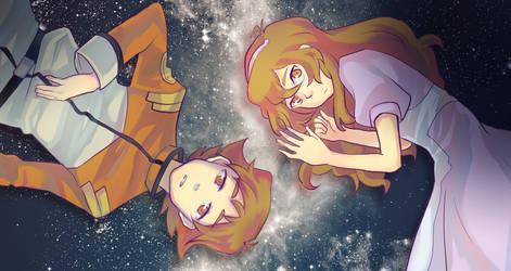 Voltron- Katie's starry sky (short ver) by rainbox17
