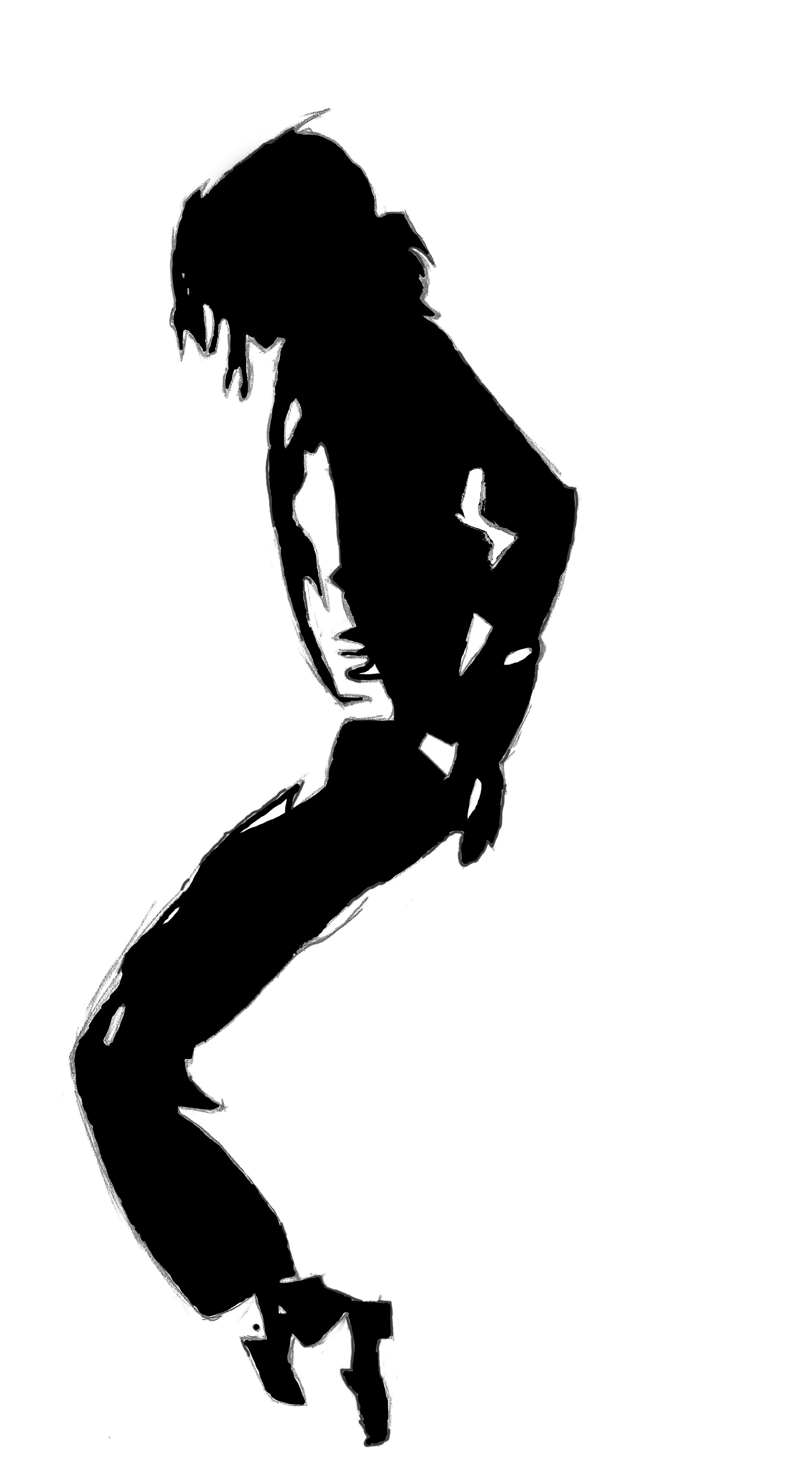 Michael Jackson Silhouette by Yggdrasil75 on DeviantArt