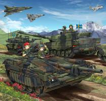 Strv 103 'S-Tank'