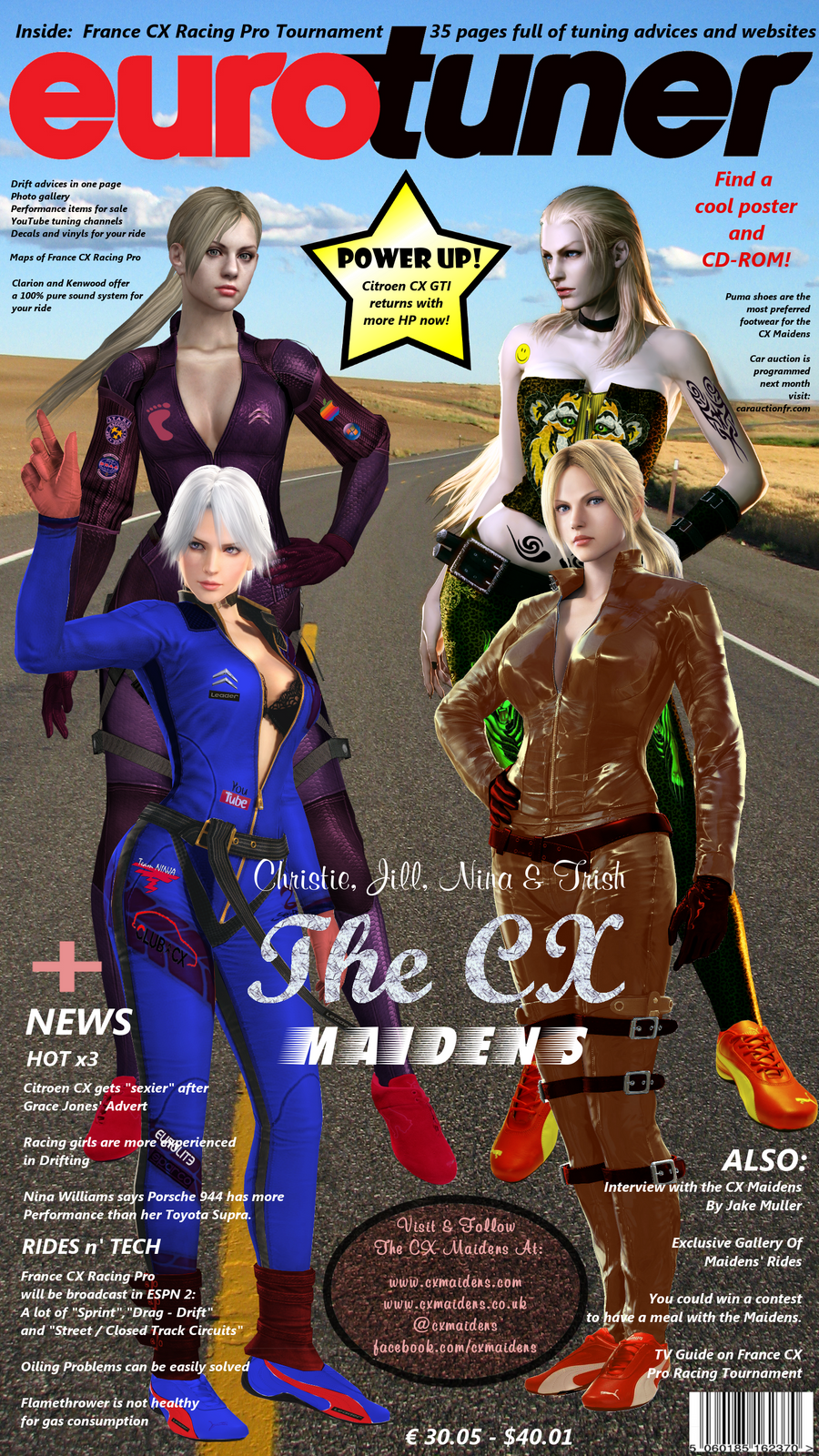 The Cx Maidens Eurotuning Cover By Leoncottkennedy On Deviantart