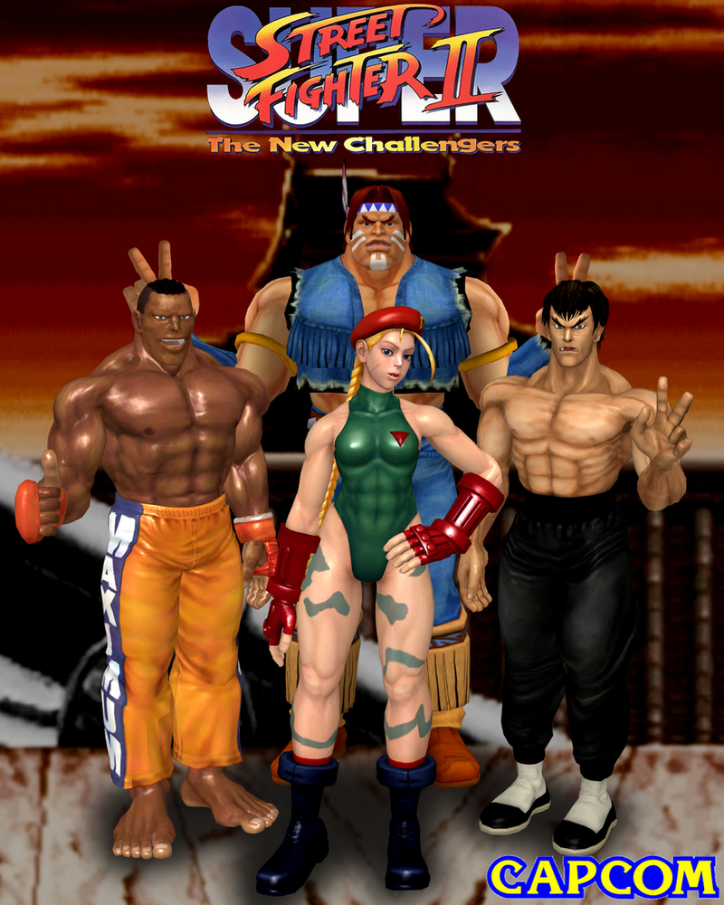 The New Challengers by Leon5cottKennedy