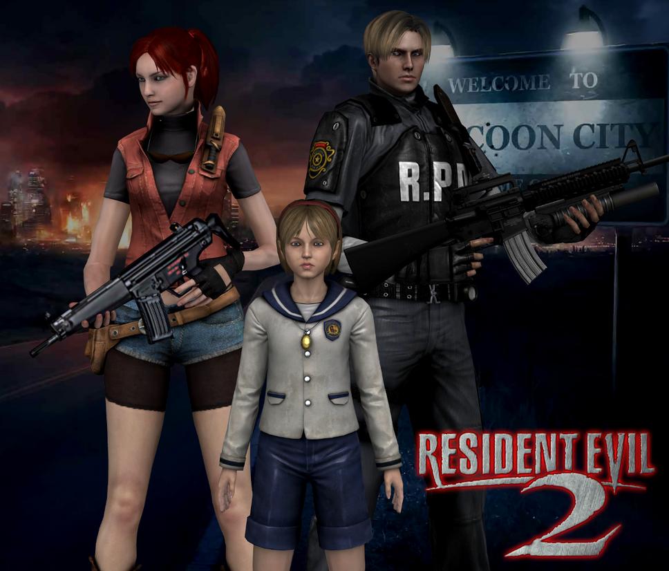 Resident Evil 2 17 Years By Leon5cottKennedy On DeviantArt