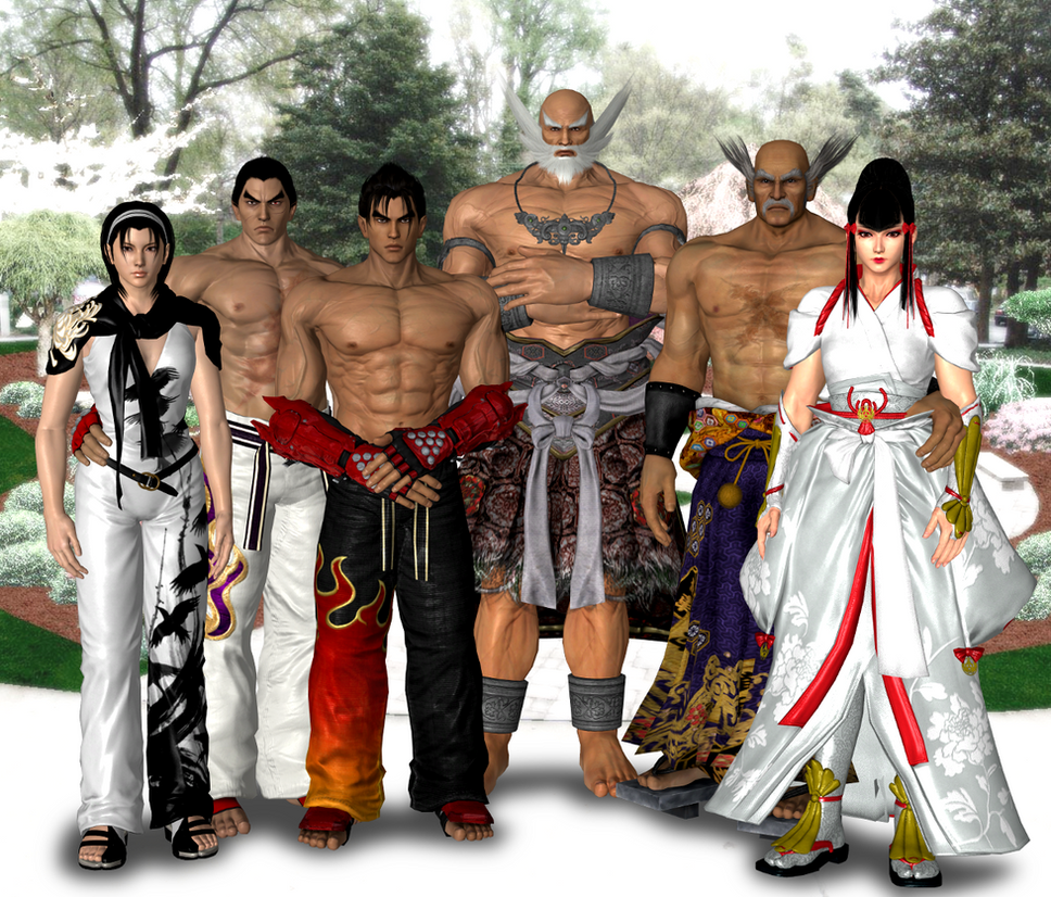 Mishima Dynasty by Leon5cottKennedy