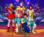 Street Fighter Alpha Babes by Leon5cottKennedy