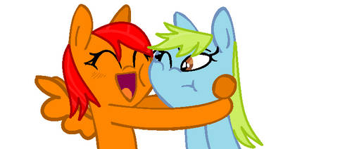 Friendz Hug! - For Pohler458 by ElectroTheCrusader