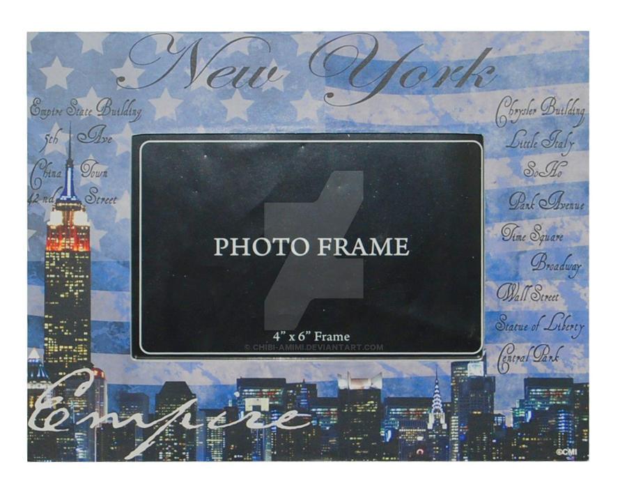 New York Souvenir frames by Chibi-Amimi on DeviantArt