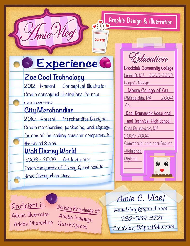 my new resume by chibi amimi on my new resume by chibi amimi