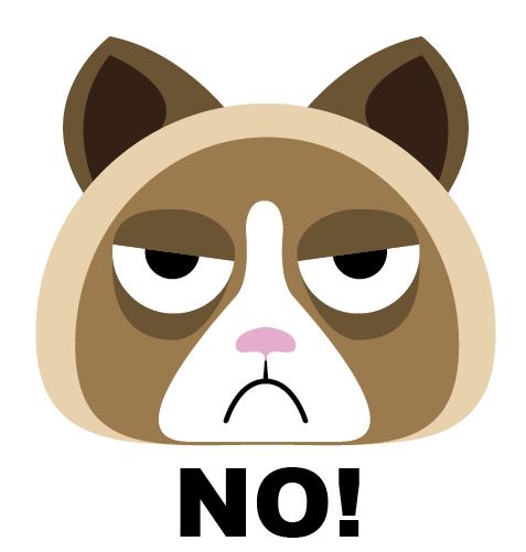 clipart grumpy cat - photo #43