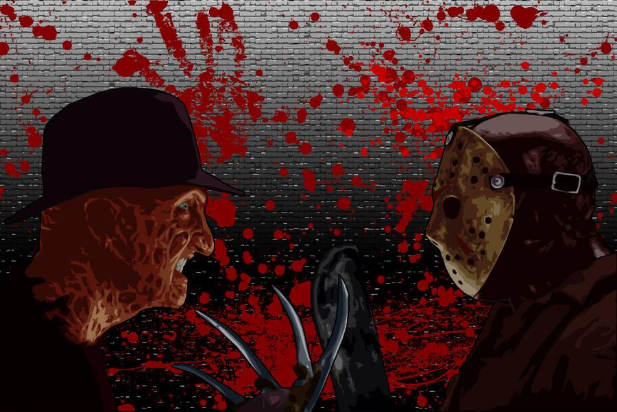 Freddy Vs Jason By Bennyb2007uk