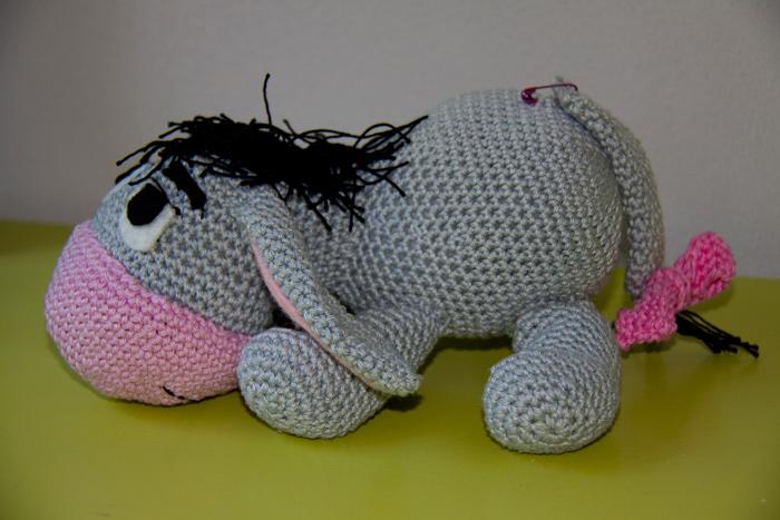 Crochet Eeyore Toys Free Patterns   467x700